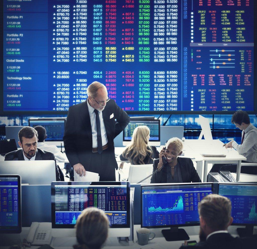 The stock market