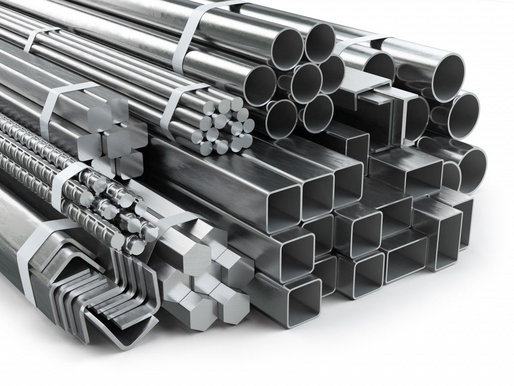 different shape of metal steel