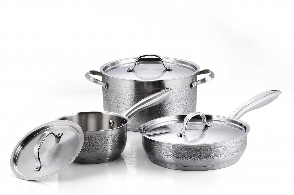 cookware, pans and pots