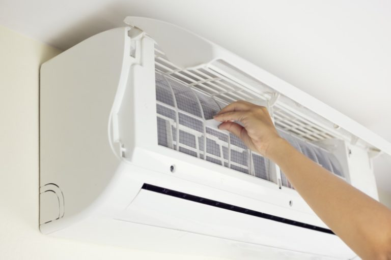 Cleaning AC