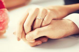Couple got engaged