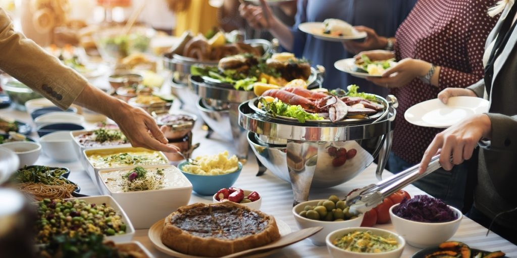 catering in an event