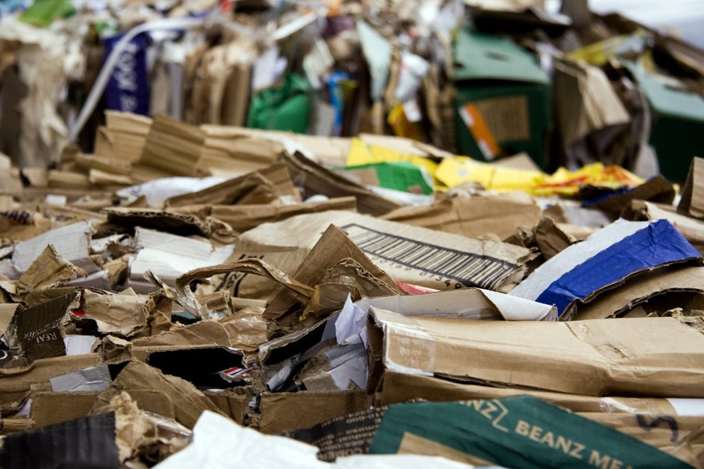Cardboard waste management