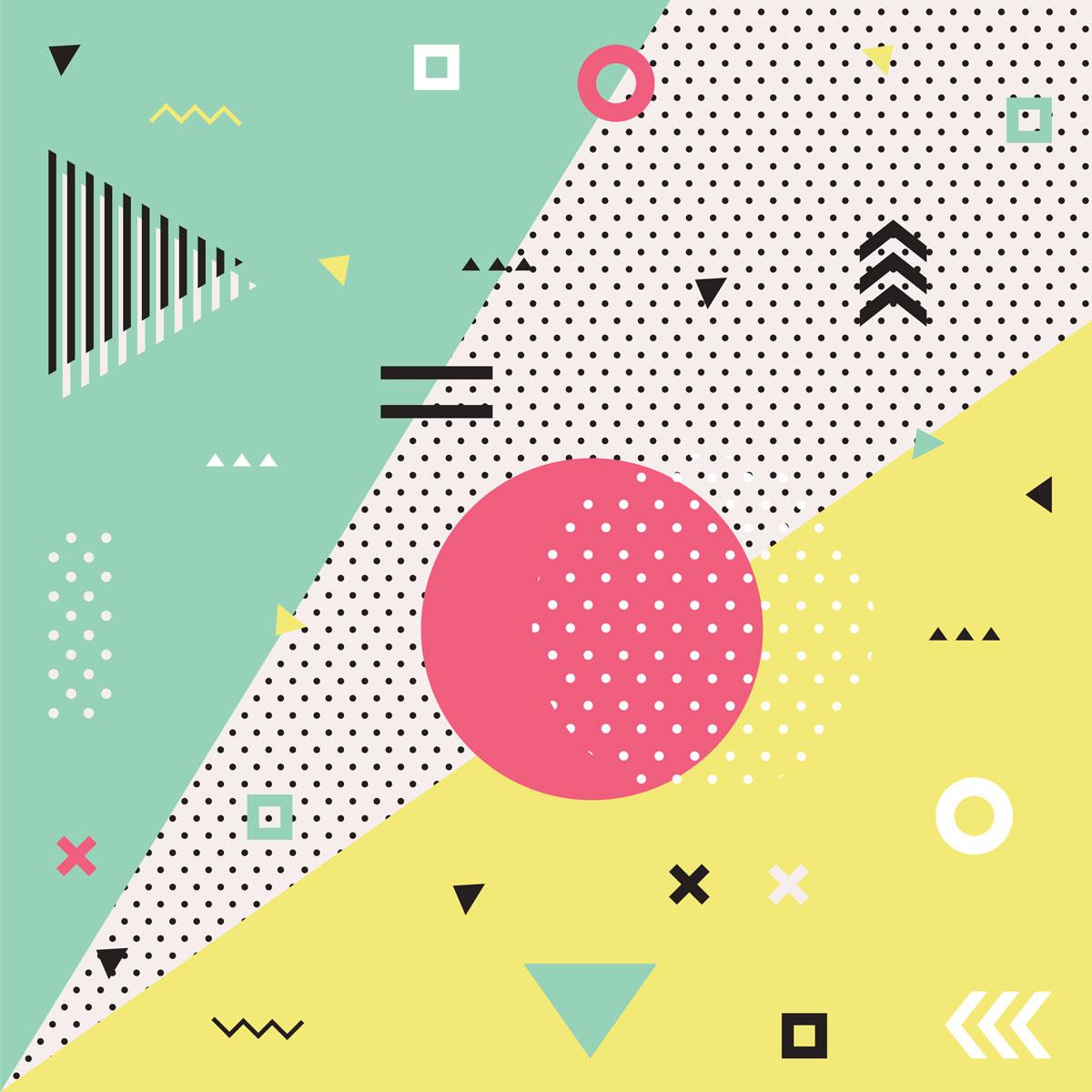 geometric shapes concept