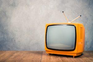 retro tv concept